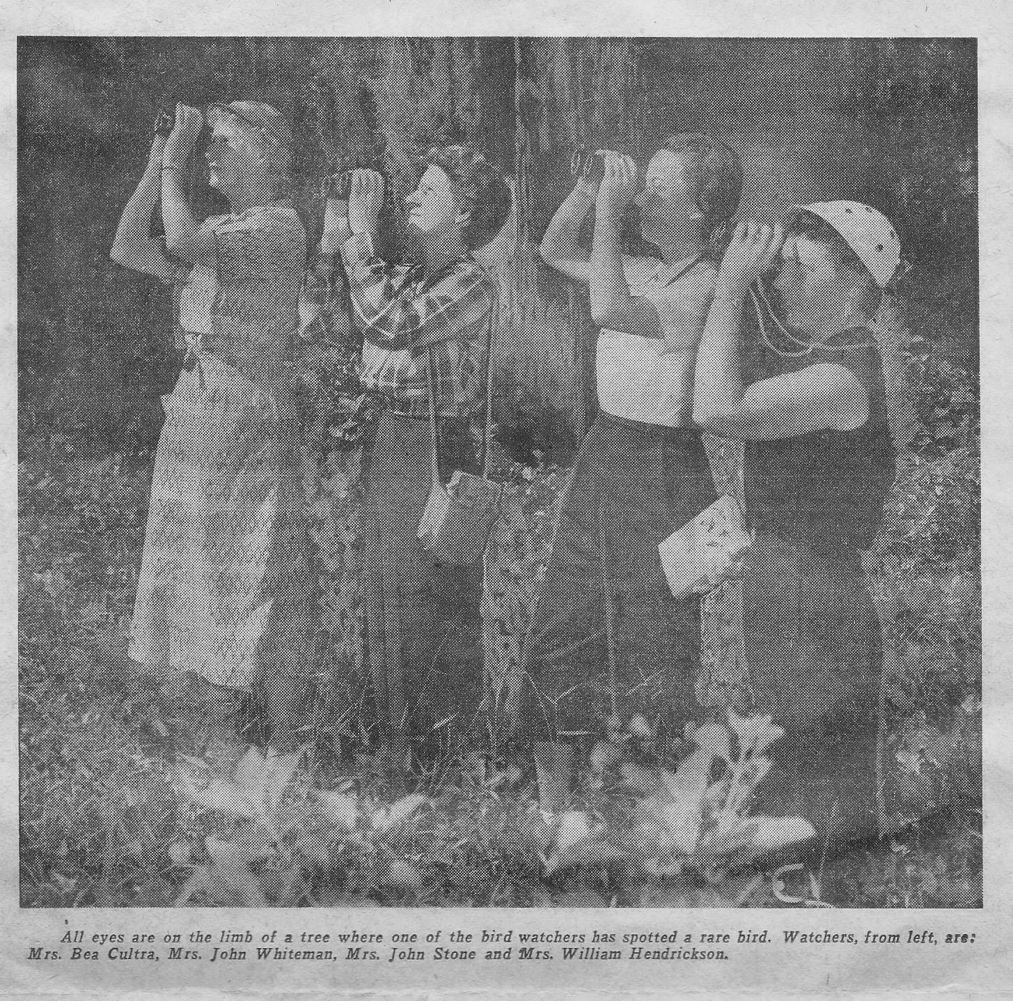 DAS History Pic 1956 Birders