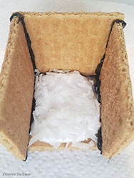 Edible birdhouse step 2