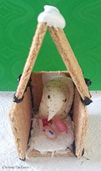 Edible birdhouse step 4
