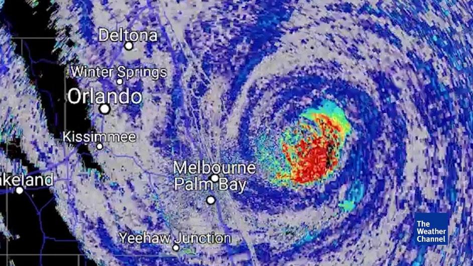 Hurricane Matthew Birds in Eye 201710