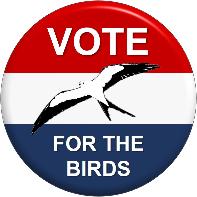 Vote for the birds